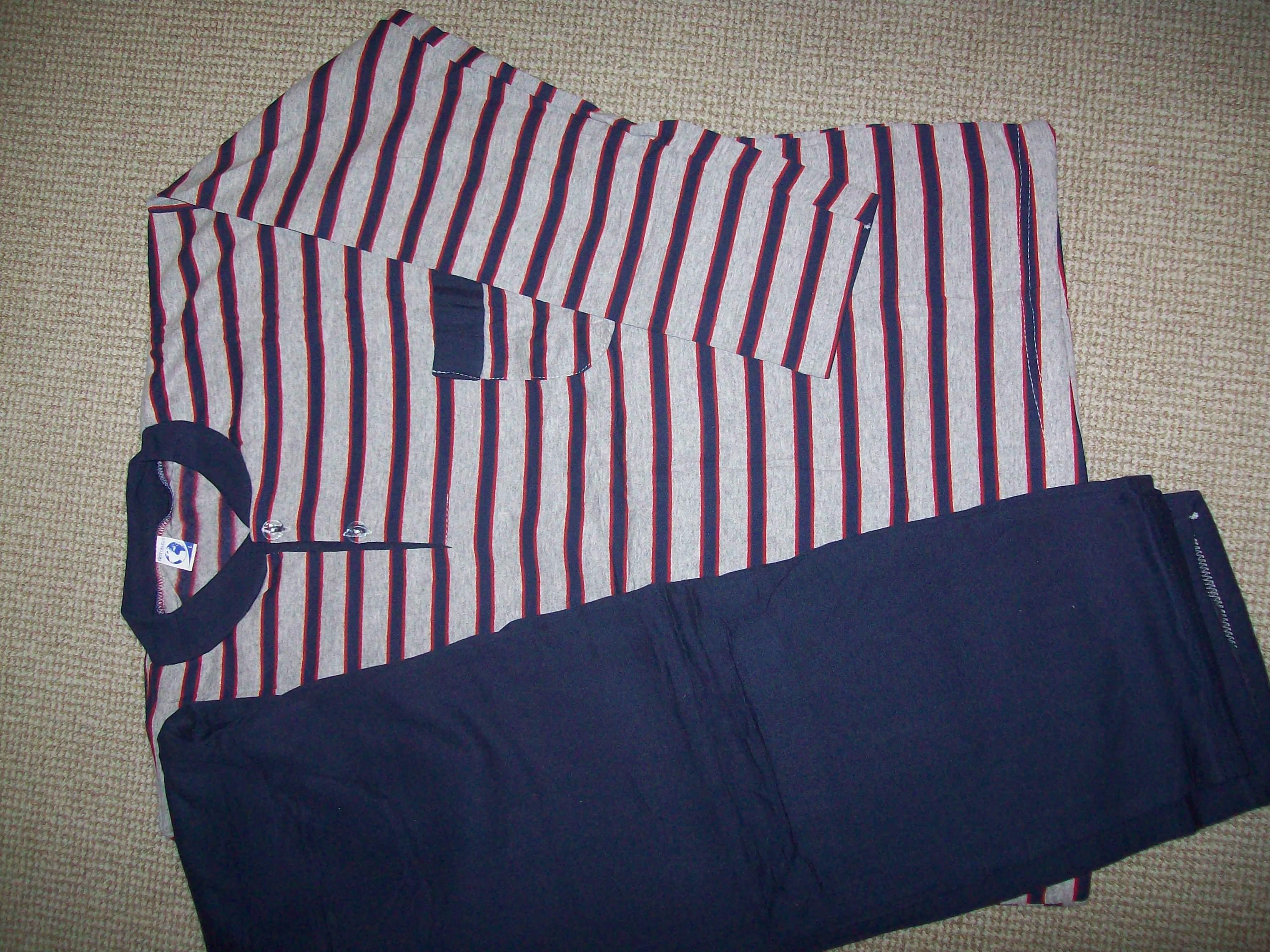 теплая мужская пижама Турция L -XL