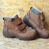 Ботинки,полусапоги Next кожа зима (30 размер)