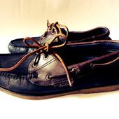 Кожаные туфли мокасины Blue Harbour р.42