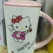 Керамическая чашка Hello kitty (хелоу Кити)