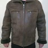 Дубленка зимняя теплая. На 50-52. M-L, зимняя куртка