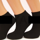 Махровые мужские носки патик бамбук, 42-45 р. черные. в наличии