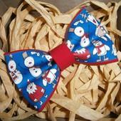 Стильные новогодние бабочки для деток! Новинки!