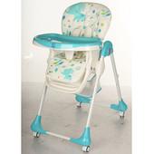 Детский стульчик для кормления Bambi M 3234-1,бирюзовый