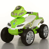 Квадроцикл bambi M 0417 E,колеса eva,до 40 кг,6 км/ч,есть р/у