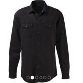 Оригинальная мужская джинсовая рубашка от Livergy размер М L