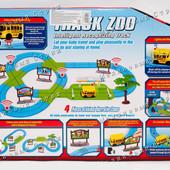 """Трек со звуком и светом """"Веселый Зоопарк"""", поет песню, фразы, машинка автобус, фигурки животных"""
