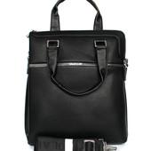 Очень стильная мужская вместительная сумка качественная (6886-02)