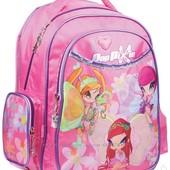 Качественный ортопедический школьный рюкзак для девочки 1-5 кл.Kitе Рор
