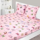 Детский постельный комплект из мягенькой фланели
