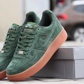 Кроссовки мужские Nike Airforce green