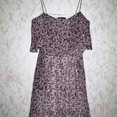 шикарное платье Mango S(может быть и на M)