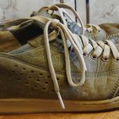 мокасины серо-коричневые кожаные Gravis Размер 43 стелька 28 см
