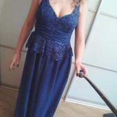 Шикарное обворожительное платье макси Jeane Blush  р. M-L. Недорого!