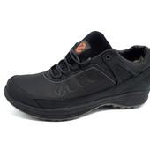 Распродажа! Зимние кроссовки-ботинки Ecco Sport Style Tracks на меху, натур кожа 3 цвета