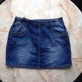 Джинсовая юбка фирмы George на возраст 10-11 лет