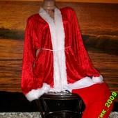Маскарадный наряд Санты + 2 подарка