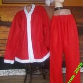 Маскарадный наряд Санты 50-52 размер