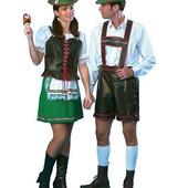 Комбинезон для мужчины+ жилет для девушки 44 р Бавария пивной фестиваль