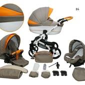Универсальная коляска 2в1 Mikrus Cruiser New 16B Микрус