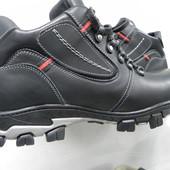 Кожаные зимние мужские ботинки 40-45