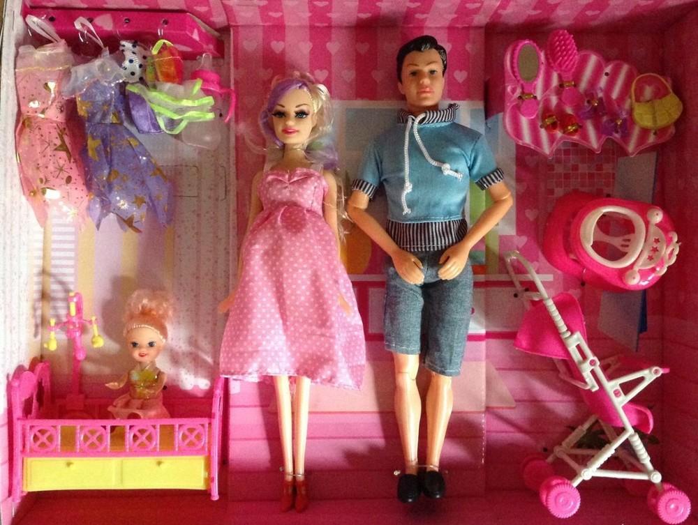 Кукла барби наборы семья