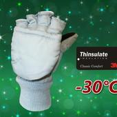Лыжные детские рукавицы перчатки 2 в 1 Thinsulate Walmart Сша