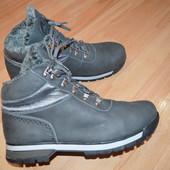 Мужские ботинки Staff нубук натуральный мех 44 размер