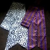 Два стильных мужских шарфа-аскот по цене одного