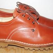 стильные кожаные туфли 27 см