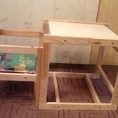 Деревянный столик и стул, Украина