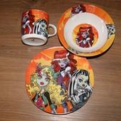 Набір дитячого керамічного посуду