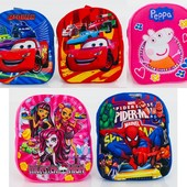 Рюкзак объемное изображение 3d - Тачки, Спайдермен, Монстер Хай, Пеппа