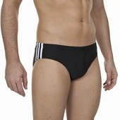 Мужские трусы-плавки adidas 3-Stripes Trunks, артикул X13231.