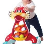 Музыкальный ходунок-каталка 'Щенок' Playgro 0185504 Австралия разноцвет 12117038
