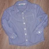 Рубашка John Lewis 12-18 мес.