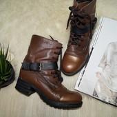 (37р.) Max! Италия! Кожа! Удобные стильные сапоги, ботинки