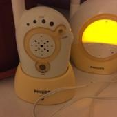 Радионяня Philips + ночник