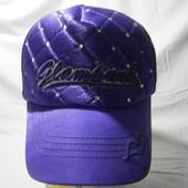 Kira Plastinina женская кепка с сеткой фиолетовый цвет