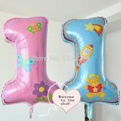 Надувные шарики фольгированные, шары для праздника день рождения