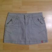 Фирменная джинсовая юбка S-M