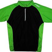 Велосипедка с карманами отражателем зеленая черная Muddy Fox М