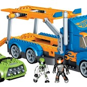 Mega Bloks Hot Wheels Секретная миссия 91718 urban agent stunt rig
