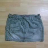 Фирменная джинсовая юбка L