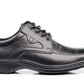 Туфли Мужские Кожаные (001)