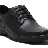 Туфли Мужские Кожаные (003ч)