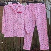 Байковая пижама для девочки (11-12 лет) Primark