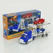 Трейлер двух этажный из мультфильма Вспыш ,  с машинками