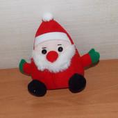 Мягкая говорящая игрушка Санта