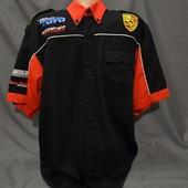 Командная рубашка Porsche. Оригинал. Размер L